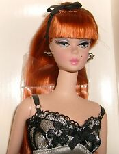 Silkstone - Lingerie Barbie #6 - Redhead Fashion Model 56948