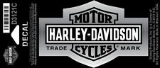 Harley Davidson Adesivo Modello Bar Shield Long 18,0 cm x 10,5 cm all'aperto