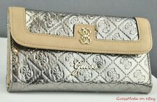 FREE Ship USA NWT Wallet GUESS Reiko slg Pewter CQ New Ladies Lovely Stylish