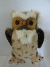 Omega Toy Horned Owl 6131 Horatio Fine Museum Quality Life Like Animals Plush
