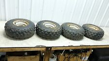 88 Suzuki LT 80 LT80 Quadsport Quad Sport wheels rims front and rear set tires