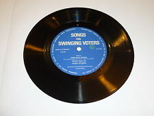 John Citizen - Nationalisation Nightmare - SONGS for SWINGING VOTERS  flexi Disc