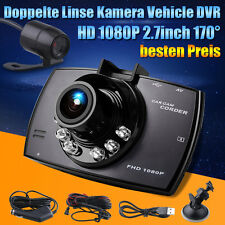 "2.7"" HD 1080P Auto DVR DashCam Rückspiegel Vehicle Car Kamera Kfz DE Store"