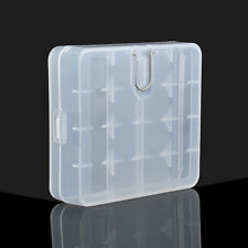 Hard Plastic Case Cover Holder for AA / AAA Battery Storage Box MF