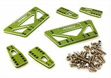 Integy Alloy Shock Mount Lift Kit for Axial 1/10 SCX-10 Scale Crawler Green