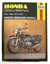 Honda CB 500 K1 'Four' 1972 Haynes Manual