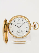 E. Howard & CO, Boston Taschenuhr Savonette, 14ct gold, 20er Jahre