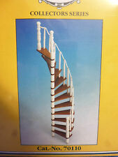 DOLLS HOUSE DIY   WOODEN SPIRAL STAIRCASE KIT