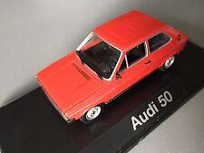 1/43 AUDI a50 VW POLO mk1 Minichamps Diecast Modello Auto Mars Rosso g40