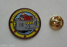 SONIC THE HEDGEHOG DR Professor ROBOTNIK locale 1992 in metallo smaltato pin badge pin