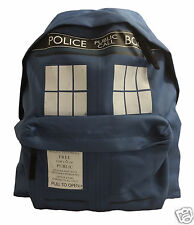 Doctor Who Tardis Rucksack - Ideal for the Gym, School or Office - NEW