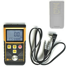 Portable Digital Ultrasonic Wall Thickness Gauge Tester Meter Metal Steel TM130D