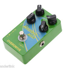 """Brand New Caline CP-25 Overdrive Guitar Effect Pedal """"Highway Man"""" True Byp U7T8"""