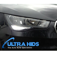 AUDI A1 T20 5W CREE DRL DAY TIME RUNNING LIGHTS ERROR FREE 6500K XENON WHITE