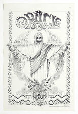 Rick Griffin Poster Cover of 1967 ORACLE Psychedelic Newspaper of Haight Ashbury