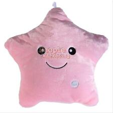 Star Shaped Glowing LED Pillow 7 Color Changing Light Up Soft Cosy Relax Cushion