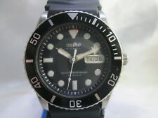 SEIKO 7S26-0040 10 BAR STAINLESS STEEL AUTOMATIC MENS DIVER WATCH
