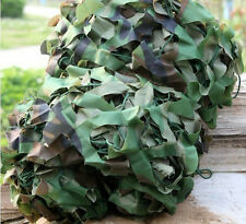 MILITARY CAMOUFLAGE NET JUNGLE WOODLANDS CAMO 1Mx2M