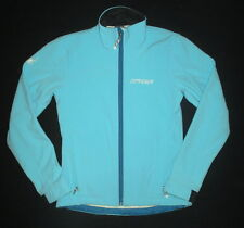 Spyder Womens 4 Soft Shell Jacket Full Zipper Windstopper Blue