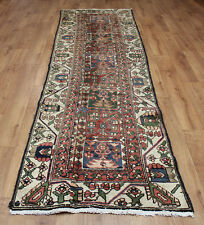 OLD WOOL HAND MADE PERSIAN ORIENTAL FLORAL RUNNER AREA RUG CARPET 288 X 88 cm