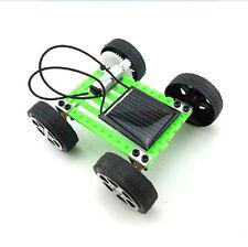Neu Mini Solar Spielzeug DIY Car Kinder Educational Puzzle IQ Gadget Hobby Robot
