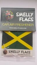 Smelly Flags -Car Air Freshener -JAMAICA- Gift Present Best match Easter
