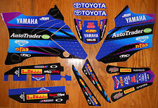 FACTORY EFFEX TEAM JGR AUTOTRADER YAMAHA YZ 85 GRAPHICS DECALS KIT YZ85 (02-15)