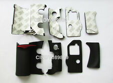 A Unit of 4 Pieces Grip Rubber Repair Part for Nikon D300 DSLR + adhesive tape