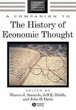 A Companion to the History of Economic Thought - Samuels, Biddle & Davis