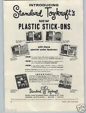 1965 PAPER AD Skipper Doll Flipper Dolphin Magilla Gorilla Toykraft Stick ons