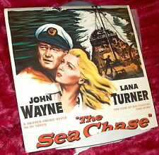 LD Laserdisc THE SEA CHASE John WAYNE Lana TURNER CinemaScope Widescreen