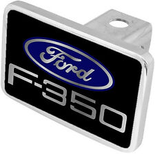 New Ford F-350 Blue Logo Tow Hitch Cover Plug