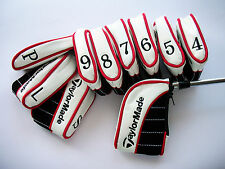 NEW SET OF 10 x TAYLORMADE IRON COVERS FOR ULTIMATE PROTECTION ZIP CLOSURE
