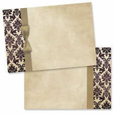Print your own wedding invitations - Pack of 20 Blanks with ivory envelopes