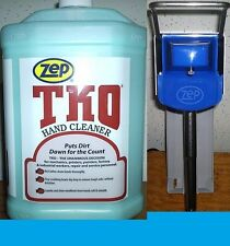 ZEP TKO HAND CLEANER 2 GALLON PACK  + ZEP® D4000 DISPENSER WITH FREE SHIPPING