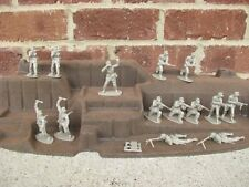 Airfix WWII German Afrika Korps Infantry D-Day 1/32 54MM Toy Soldiers Playset