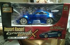 Jada Import Racer Nissan Z Garage Worx 1/24 model kit
