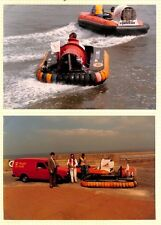 AU212 GB Cyclone Hovercraft Royal Mail Photographs x 2 {samwells}PTS