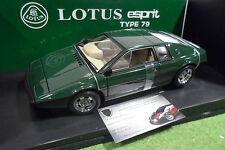 LOTUS ESPRIT Type 79 Vert Green 1/18 AUTOart 75302 voiture miniature