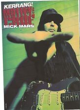 MOTLEY CRUE Mick with a steady hand magazine PHOTO / Pin Up /Poster 11x8""