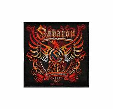 SABATON - COAT OF ARMS - WOVEN PATCH - BRAND NEW - MUSIC BAND 2471