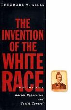 The Invention of the White Race Volume 1 and 2 Book Lot Racial Oppression