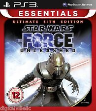 Star Wars The Force Unleashed Sith Edition PS3 Sony PlayStation 3 Brand New