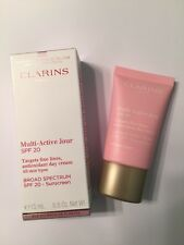 Clarins Paris Multi Active Jour SPF 20 Antioxidant Day Cream NIB
