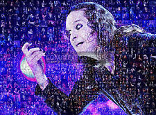 LARGE ORIGINAL MOSAIC PHOTO POSTER IN COLOUR OF OZZY OSBOURNE No 9