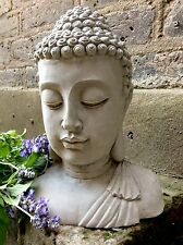 Large Divine Buddhas Bust Statue For The Home Or Garden. From The Designer Sius