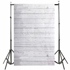 3x5FT White Wood Floor Theme Backdrop Studio Photography Props Scene Background
