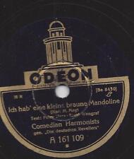 Comedian Harmonists : Ich hab eine kleine braune Mandoline - Odeon A 161 109