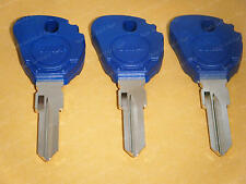 Buell Key Blanks 3 Keys For Blast Firebolt Lightning Ulysses 2000-2010 BUELL BLU