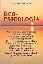 Ecopsicología by Vladimir Antonov (2012, Paperback)